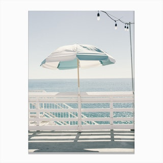 Blue Malibu single Canvas Print