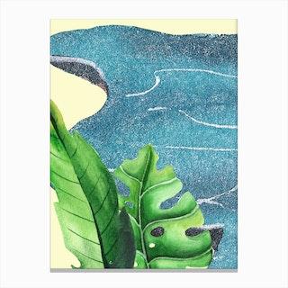 In The Jungle VII Canvas Print