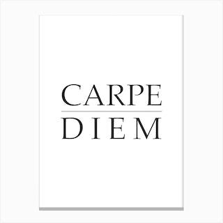 Carpe Diem 2 Canvas Print