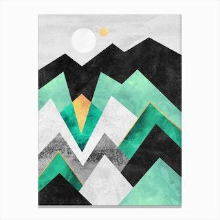 Distant Planet Canvas Print