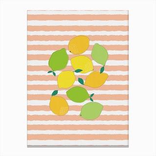 Citrus Crowd Canvas Print