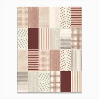 Rustic Tiles 01 Canvas Print