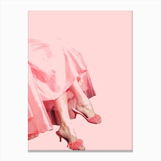 Pink Lady I Canvas Print