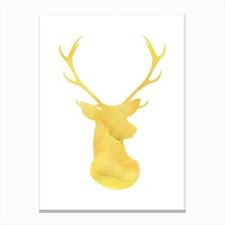 Dear Yellow Canvas Print