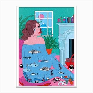 Pisces Tears Canvas Print