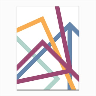 Stream Line Canvas Print