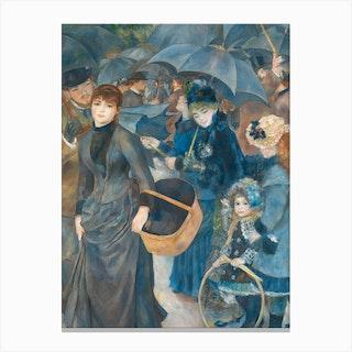 The Umbrellas, Pierre-Auguste Renoir Canvas Print