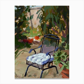 Saved You A Seat Canvas Print