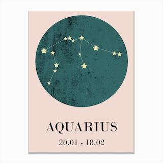 Aquaries  I Canvas Print