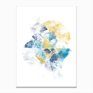 Mystic Horizon   Abstract Painting Vi Canvas Print