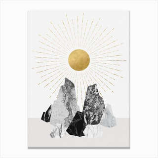 Rock Formation No 2 Canvas Print