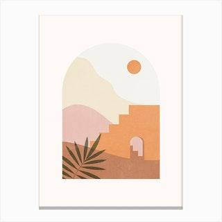 Day Desert Canvas Print