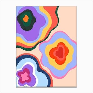 Flower Bunch Canvas Print