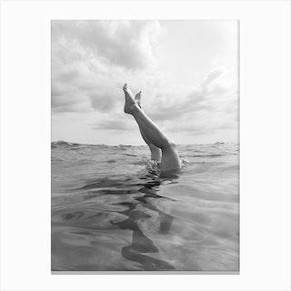 Ocean Dive Canvas Print