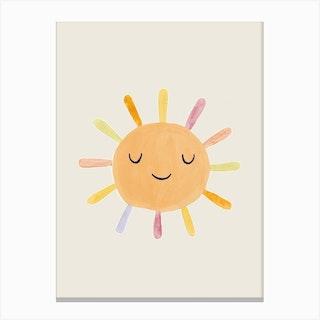 Nursery Sun13 Canvas Print