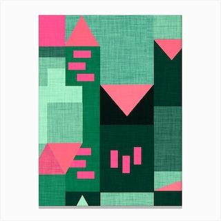 B Klee Green Canvas Print