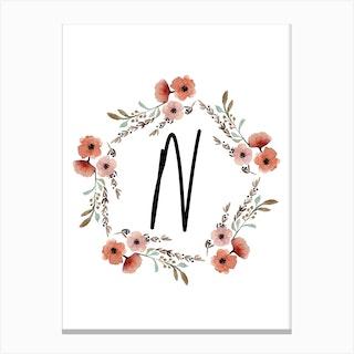 Wild Flower N Canvas Print