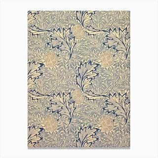 Apple, William Morris Canvas Print