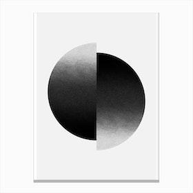 Gradient Point Canvas Print