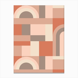 Softy Blocks Canvas Print