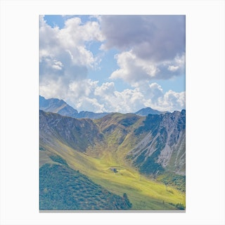 Summer Slope Canvas Print