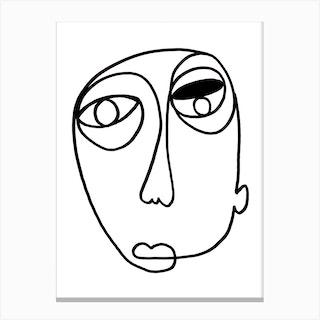 Gamba Canvas Print