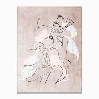 Les Femmes Fatales Canvas Print