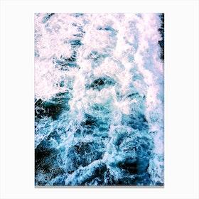 Huntington Beach Waves Canvas Print