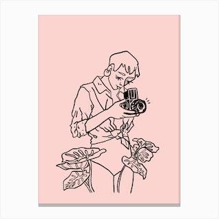 Snap Rose Canvas Print