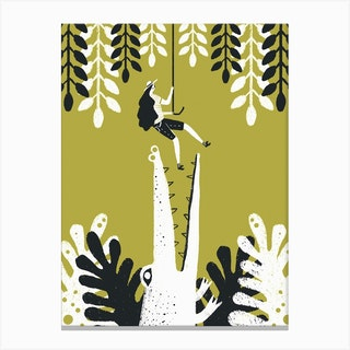 Jungle 2 Canvas Print