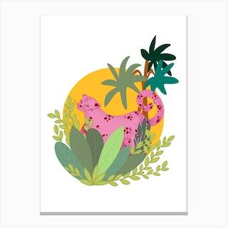 Pink Panther Canvas Print