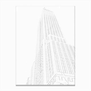 Skyscraper III Canvas Print
