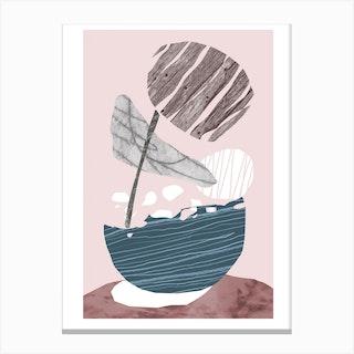 Egg Basket Canvas Print