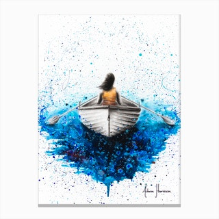Finding Me Canvas Print