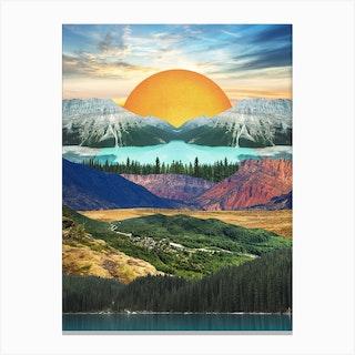 Landscape 405 Canvas Print
