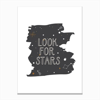 Look For Stars Canvas Print