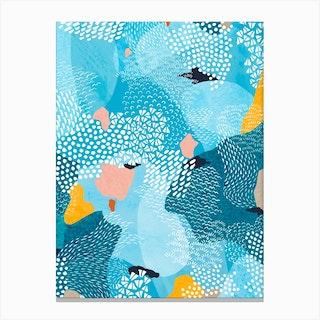 Calm Abstract Canvas Print