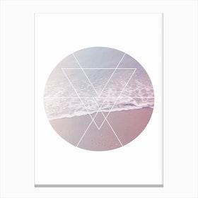 Sea Circle Canvas Print