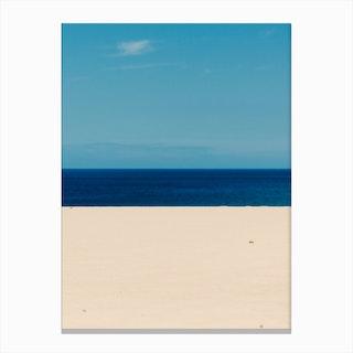 Sky Ocean Beach Canvas Print