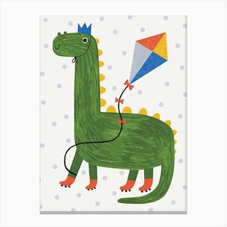 Dino Canvas Print