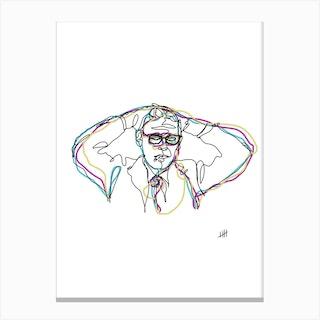 Bill Evans Ii Canvas Print