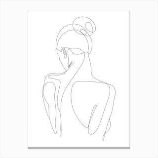 Dissol Canvas Print