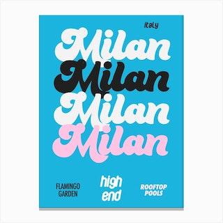 Milan Canvas Print