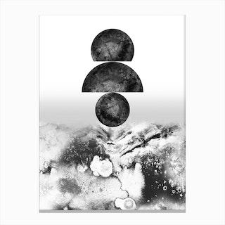 Walking on Lunar 2.0 Canvas Print