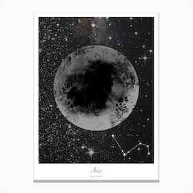 Aries Horoscope Canvas Print