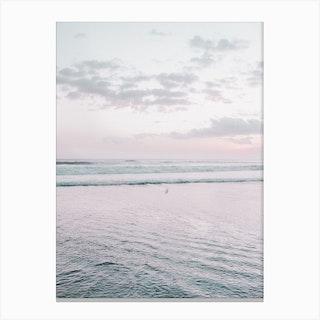 Pastel Beach I Canvas Print