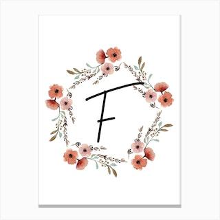 Wild Flower F Canvas Print