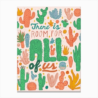 Room For All Canvas Print