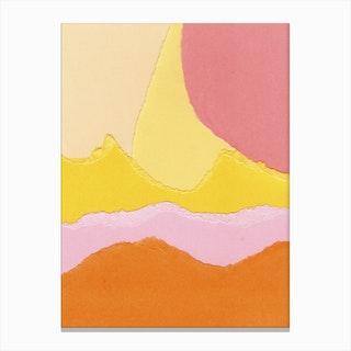 Colores IV Canvas Print