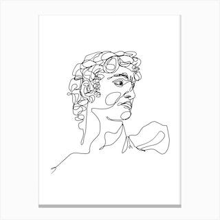 David Iii Canvas Print